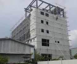 Structure en acier de construction de haute élévation, dortoir de l'atelier