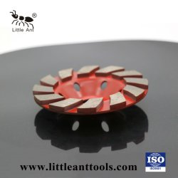 [تثربو] يصنع ماس فنجان عجلة [غريند بلت] لأنّ خرسانة
