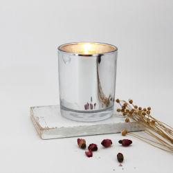 은에 의하여 도금되는 촛대 은 장식적인 촛대
