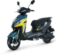 800W potente Scooter eléctrico deportivo Doble Disco, luz del LED (MNQ)