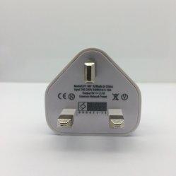 iPhone 2.4A iPhone를 위한 영국 시스템 이동 전화 USB 접합기 충전기를 위한 보편적인 영국 시스템 이동 전화 USB 충전기