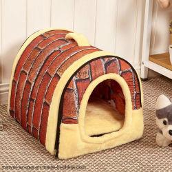 犬の製品の犬小屋のネストFoldableペットベッドペット家ペット旅行ベッド