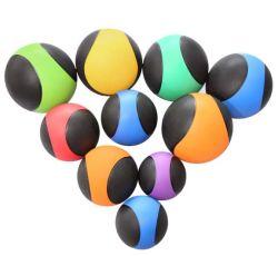 Caoutchouc solide ball ballon poids balle de Yoga de conditionnement physique