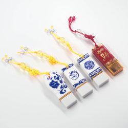 中国の工場供給の昇進のギフトUSBの棒のPendrive USBのフラッシュ駆動機構の優雅な製陶術の磁器USB2.0ドライバー