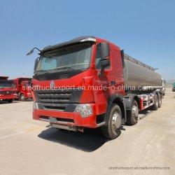 A7 HOWO Sinotruk pétrolier Diesel 40000 L de carburant du réservoir d'huile/camion-citerne