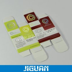 Benutzerdefinierte Druck Verpackung für 30ml Flaschen Papierflaschen Box
