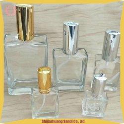 Косметический духи 15ml 30ml 50ml 100 мл квадратных насоса опрыскивателя стеклянные бутылки