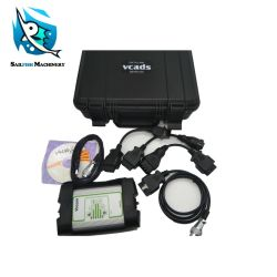 Outil de diagnostic de l'équipement de construction de l'excavateur Vocom Vcads Outil de diagnostic de liaison de données pour Volvo et de l'adaptateur 88890300