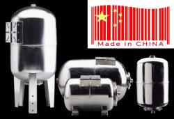 En acier inoxydable 100llt verticale du réservoir sous pression La pression du réservoir d'extension navire avec des pattes du réservoir