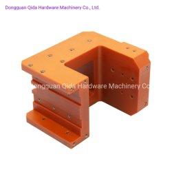Les pièces d'usinage CNC, aluminium, acier inoxydable utilisé Agencements composante des pièces