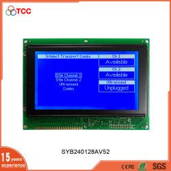 Pantalla gráfica monocromo Tcc Módulo 8 bits de 20 pines interfaz paralela de SAP1024 STN 240x128 Pantalla LCD gráfica