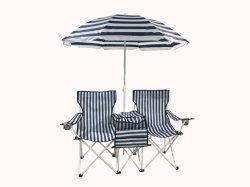 Presidenza ed ombrello di spiaggia
