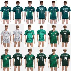 Le Mexique Chicharito Layun Carlosv 2018 Coupe du Monde de la Thaïlande maillots de football