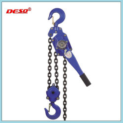 L'Équipement industriel Le levage manuel bloc / palan à levier en acier avec crochet