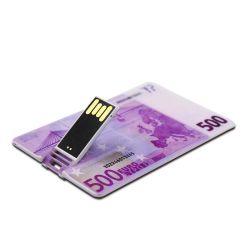 Carte cadeau promotionnel Stick USB Business Card lecteur Flash USB avec logo personnalisé