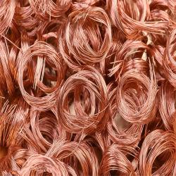 高品質の銅のスクラップ99.99%の高い純度の無駄の銅線