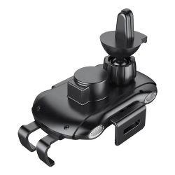 Aérateur de planche de bord de la magie du pare-brise IR Qi automatique sans fil de détection de support voiture Smart Support de téléphone mobile support chargeur rapide