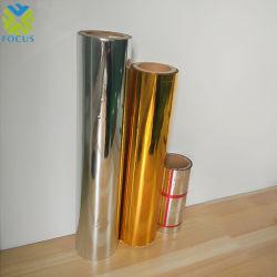 PE Film PET métallisé en aluminium revêtu de film plastique matériau à isolation de construction