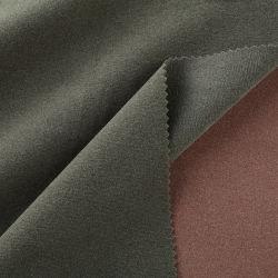 Micro de malha de polietileno escovado velo polar tecido de veludo para roupa
