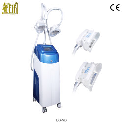 China proveedor manufactura empuñadura doble + Sistema Lipolaser Cryolipolysis