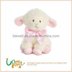 Peluche oveja de peluche de moda los Juguetes Juguetes Animales blandos con cinta