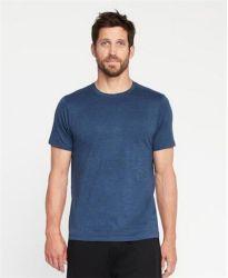 Col rond Sublimation personnalisé de haute qualité de gros Plain T-Shirt