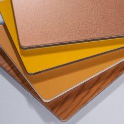 二重カーテンの内壁の装飾のための表面によって印刷されるカラーアルミニウムプラスチック合成シートかパネルまたは版