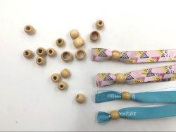 Pulsera de silicona con clip de metal Pulsera de tejido con cerraduras de cilindro