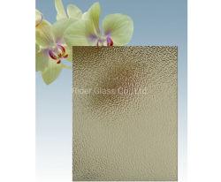 5mm 5,5mm 6 mm com padrões de bronze 183*244 Nashiji Preço de vidro com fio