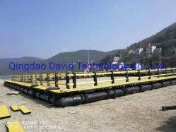 На заводе изготовителя HDPE с плавающей запятой океана циркуляр аквакультуры нетто на ферме