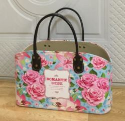Creative Wedding Leather Gift Basket Met Full Printing
