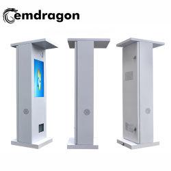 La publicité Display LCD intelligent de la publicité extérieure de porte de la route de la machine mur vidéo LCD 24 pouces rétro-éclairage LED centre de loterie des écrans publicitaires numériques