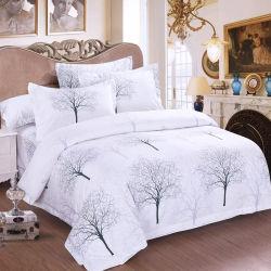 Haupttextilbaumwolldoppeltes Bett 100% druckte Duvet-Deckel-Set