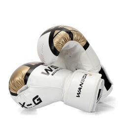 قفازات التدريب المهني الملاكمة تصميم مخصص قفازات الملاكمة من الجلد الحقيقي قفازات ملاكمة جلدية رخيصة