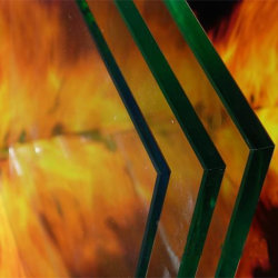 30mins, 60mins 의 90mins 화재 정격 유리제 내화성 유리 19mm