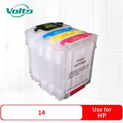 Kompatible Drucker-Nachfüllungs-Tinten-Kassette HP-14 für HP-Farben-Tintenstrahl-Drucker Cp1160serieshp Officejet D125xi D135 D135xi D145 D155xihp Officejet 7110 Serie 7130