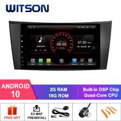 Processeurs quatre coeurs Witson Android 10 DVD de voiture GPS pour Mercedes-Benz Classe E W211 (2002-2009) /de la classe G W463 (2001-2008) /CLS W219 (2004-2011) construit en module WiFi