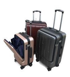 Fermeture à glissière Tige de traction avant l'affaire Roue universelle valise femelle Foreign Trade Business Valise Trolley