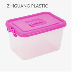 Un design attractif ménage la boîte de rangement en plastique du compartiment de l'organiseur