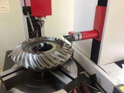 Rodas de engrenagem cônicas em espiral personalizadas para caixa de engrenagens