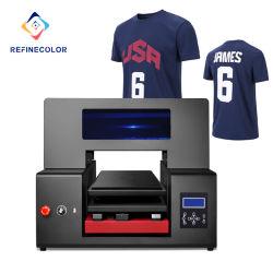 Mais Recentes Refinecolor Industrial barata A3 DTG T-shirt produtos têxteis 3D digital Impressora a jato de tinta