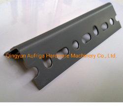 40X40mm hanno galvanizzato l'acciaio uguale di angolo galvanizzano la barra di angolo del metallo di angolo del ferro con il foro per costruzione