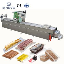 Máquina de envasado automático de alimentos frescos con vacío