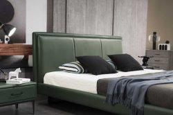 Gainsville سعر تنافسي سرير بحجم كينغ وأثاث من الجلد غرفة النوم أثاث منزلي