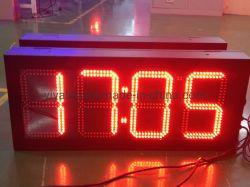 "8"" 10"" 12"" Gran Reloj LED RF tiempo LED indicador de temperatura"