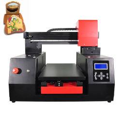 6 LED Color impresora de inyección de tinta UV de cama plana Teléfono Móvil Celular de la impresora caso cubrir máquina de impresión