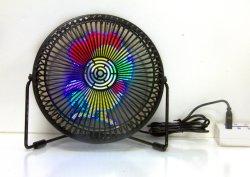 Negocio Regalo creativo jugador holográfica en 3D para conexiones inalámbricas Mini ventilador ventilador de la pantalla LED para publicidad