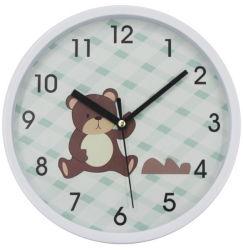 Usine directement le commerce de gros bon cadeau de promotion Horloge murale en plastique de la société