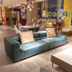 2021 nieuwste ontworpen woonkamer leren bank Leisure Couch FC4