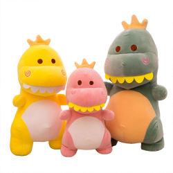 Soft Cute Dinosaur Plush Juguete Durable Big Mouth Animal Doll Para regalo de cumpleaños